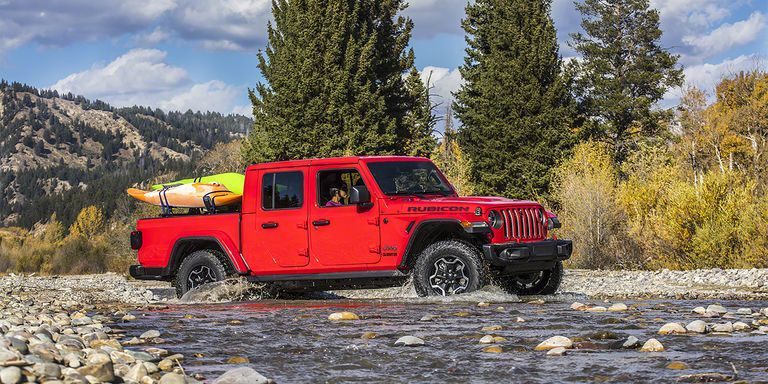 2020 Jeep Gladiator Is the Wrangler Pickup Truck We've