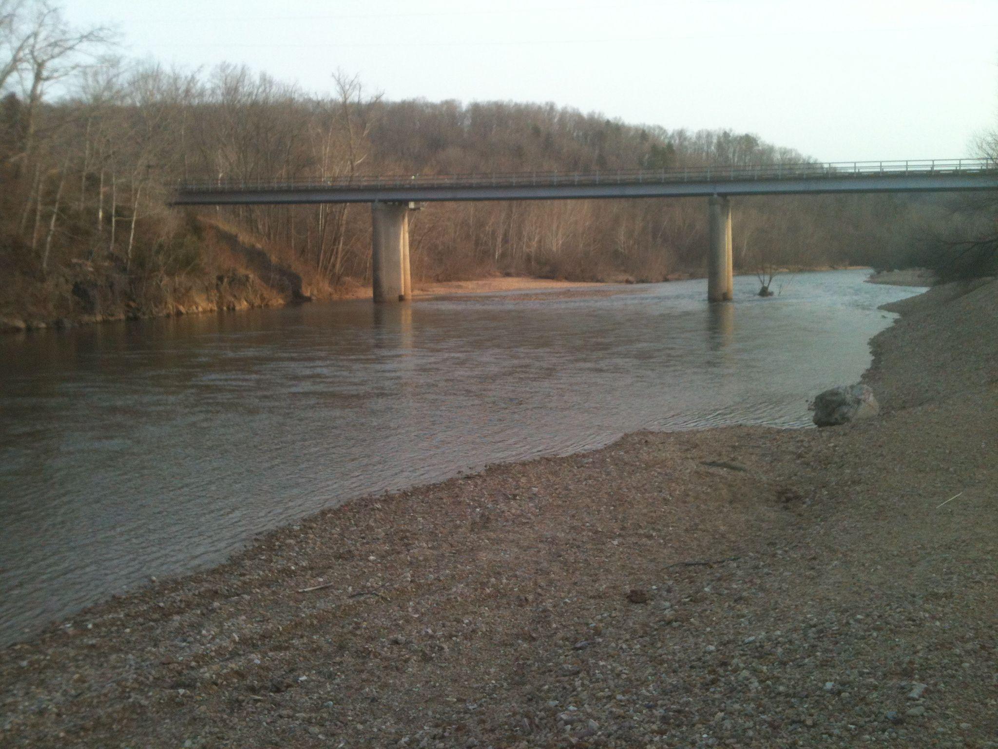 K Bridge on Black River Annapolis MO