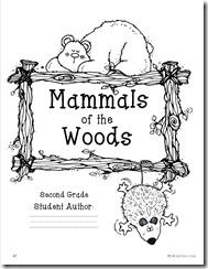 Mammals of the Woods Unit featuring Differentiated Fluency