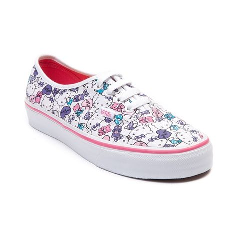 97be1f9a3b Shop for Vans Authentic Hello Kitty Skate Shoe in White Pink at Journeys  Shoes. Shop
