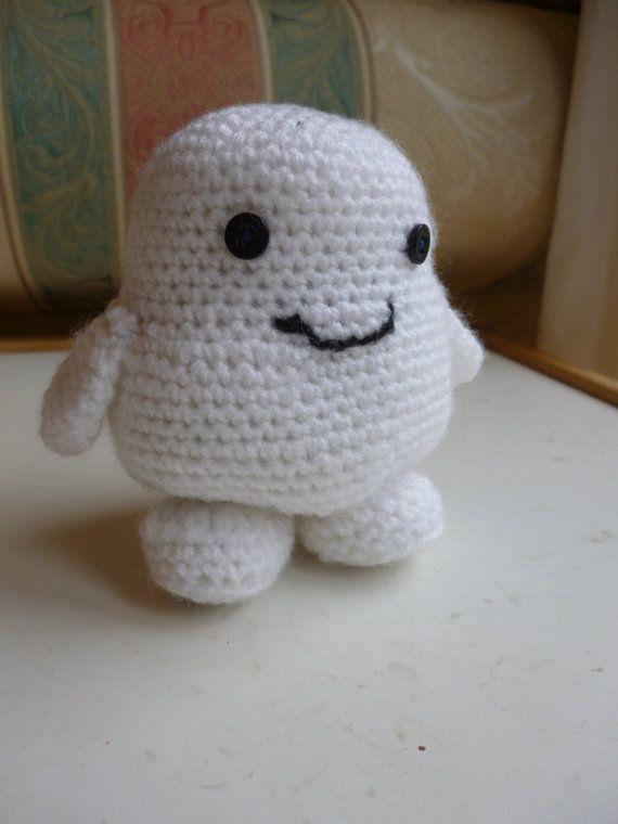 Dr Who inspired Adipose fat baby crochet amigurumi by UniquelySam ...