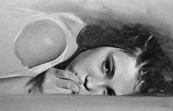 Juxtapoz Magazine - The Beauty of Kate Zambrano
