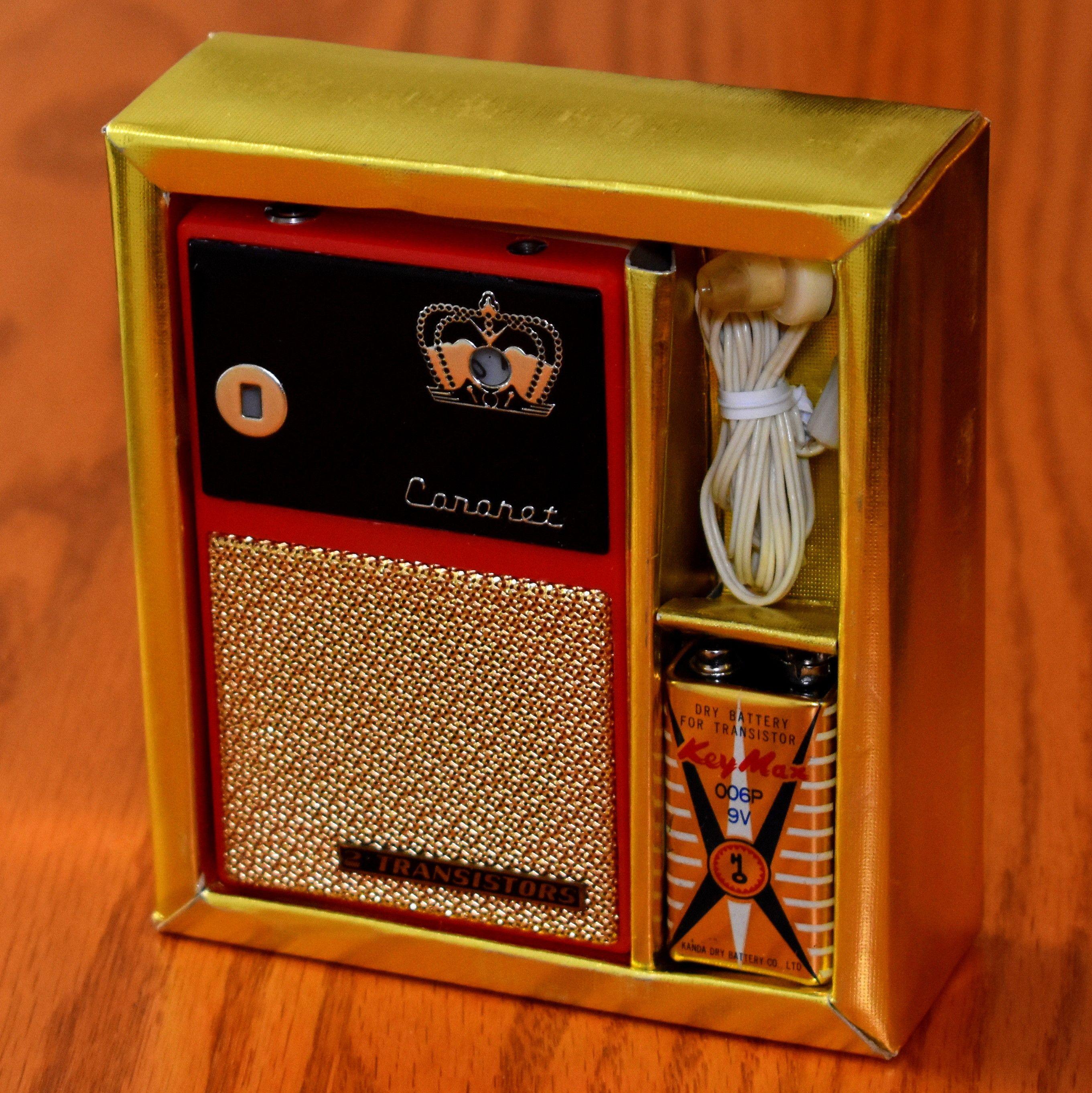 Vintage Coronet Boy's Transistor Radio, No Model Number