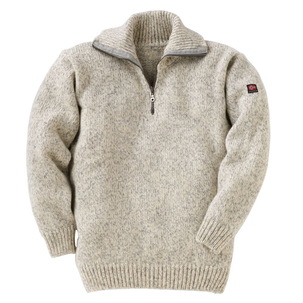 Norwegian Quarter Zip Wool Sweater National Geographic Store 160