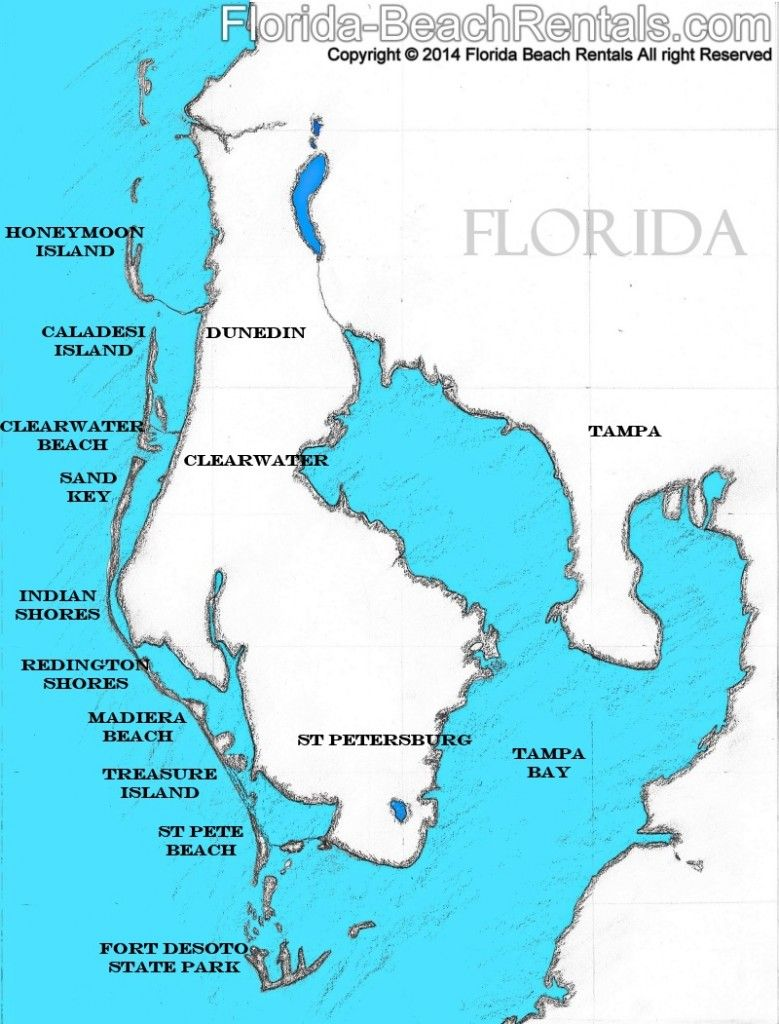 Pinellas County Florida Map Florida Map Pinellascounty Talk - Florida map showing marco island