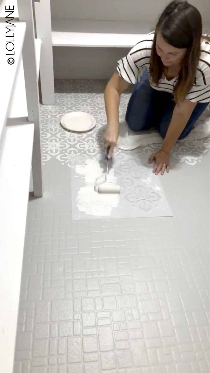 How to Paint Any Type of Floors! – Lolly Jane