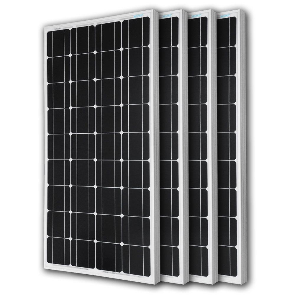 Amazon Com Renogy 100 Watt 100w Monocrystalline Photovoltaic Pv Solar Panel Module 12v Battery Charging P Solar Panels Solar Panels For Home Solar Pv Panel