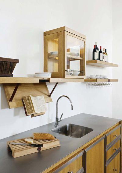 rangement cuisine nos solutions pratiques de rangement la cornue lutrin et vaisselier. Black Bedroom Furniture Sets. Home Design Ideas
