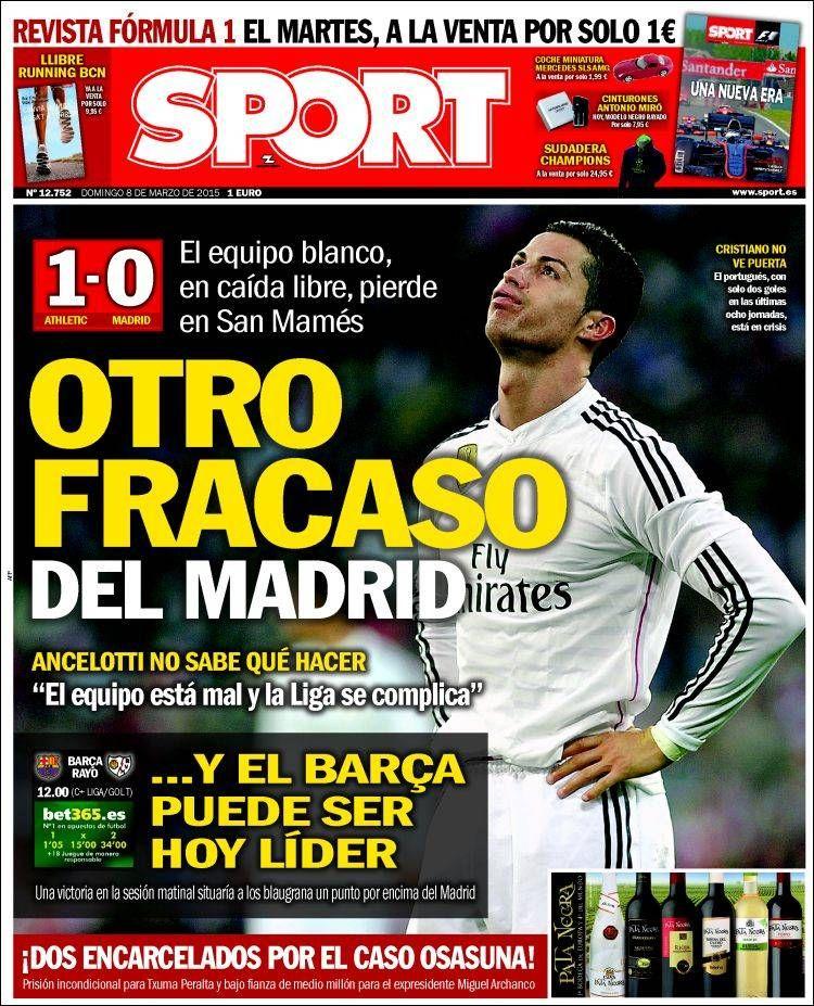 El Real Madrid en caída libre, hoy Barça puede ser líder
