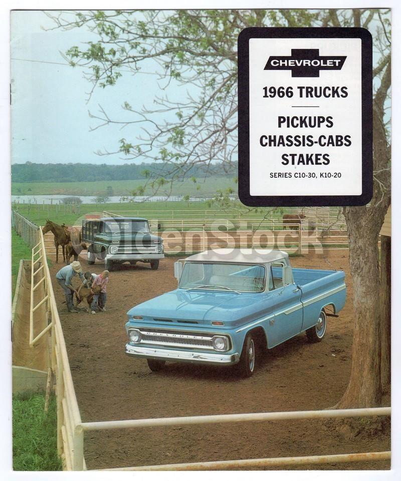 Chevy Work Trucks & Pick-up Trucks Vintage Chevrolet Advertising ...