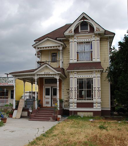 Beautiful Homes In Los Angeles: Dibble Residence (c. 1880) 3110 North Broadway
