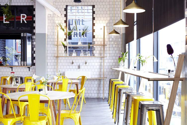 Superette Super Foods at Cape Town Design Hub cultural venueu0027s - innovatives decken design restaurant
