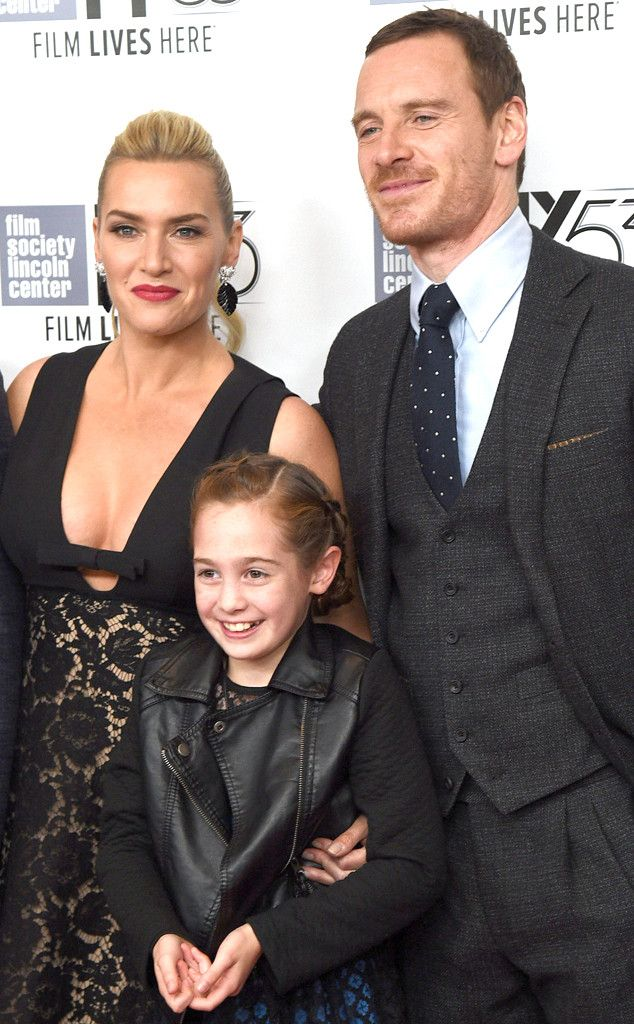 Kate Winslet, Makenzie Moss & Michael Fassbender from Movie Premieres: Red Carpets and Parties!  The Steve Jobs stars shine at their premiere at the New York Film Festival.