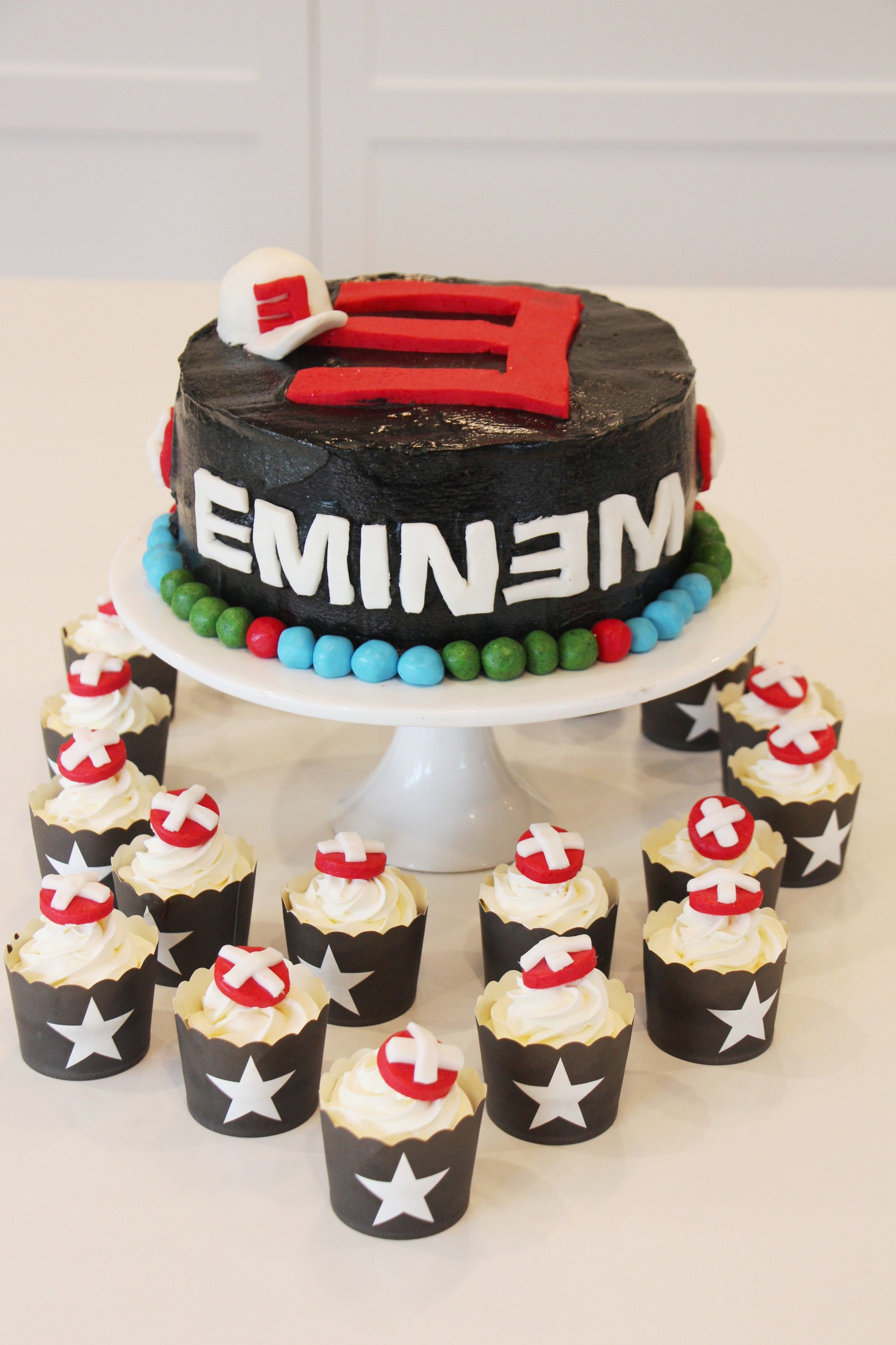 Eminem Themed Cake For A Gangsters And Rappers 21st Party Used The