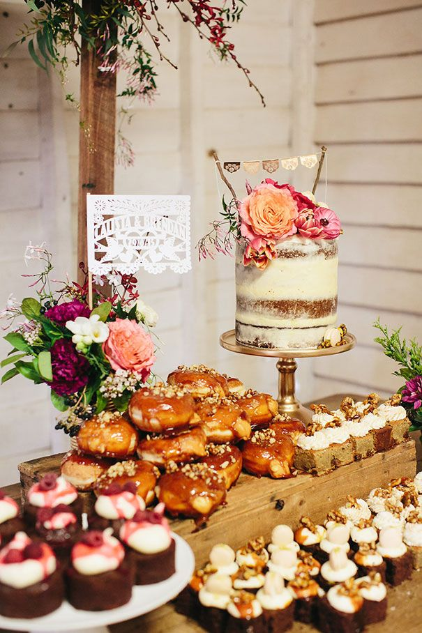 Calista Brendan Cake Table Dessert Reception Wedding