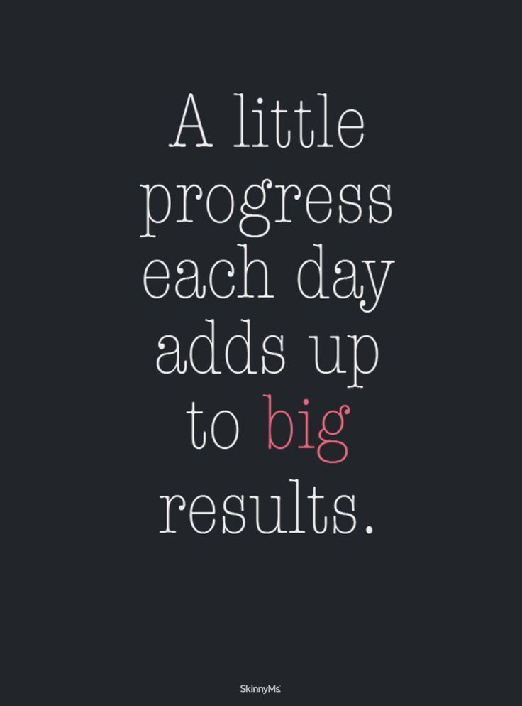A Little Progress Each Day Adds Up! No Equipment Needed. Get Started Today!