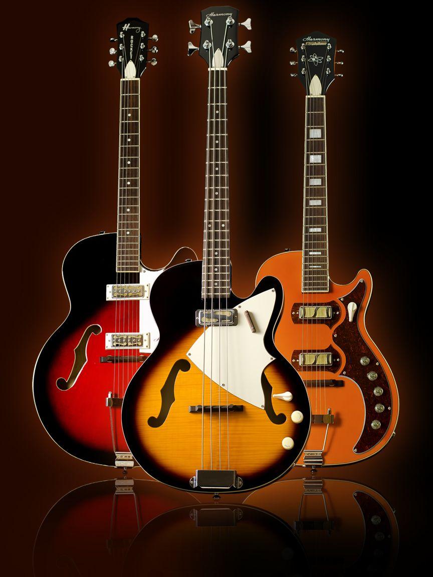 harmony guitars guitars amplifiers harmony guitars music guitar vintage electric guitars. Black Bedroom Furniture Sets. Home Design Ideas