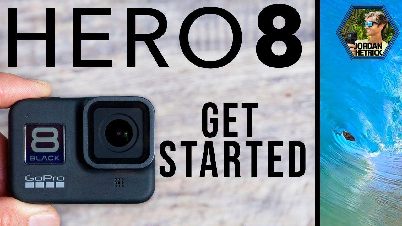 Gopro Hero 8 Black Tutorial How To Get Started Youtube In 2020 Gopro Gopro Hero Tutorial