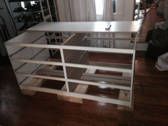 Best Hollywood Glam Malm Mirrored Dresser Island Dresser 640 x 480