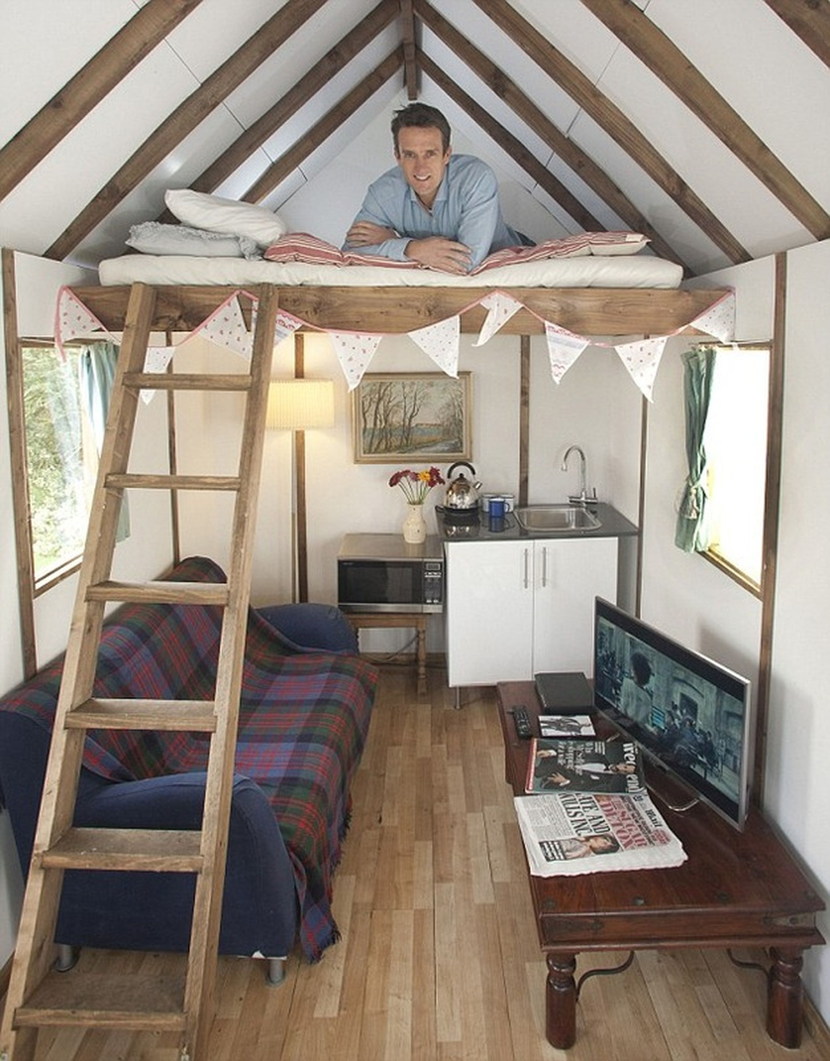 Tiny House All In One Room Tiny House Design Summer