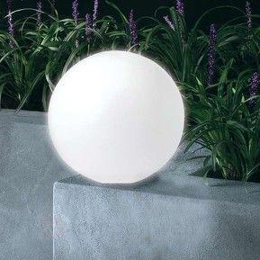 große solarleuchte ballon mit leds | gartengestaltung | pinterest, Garten Ideen