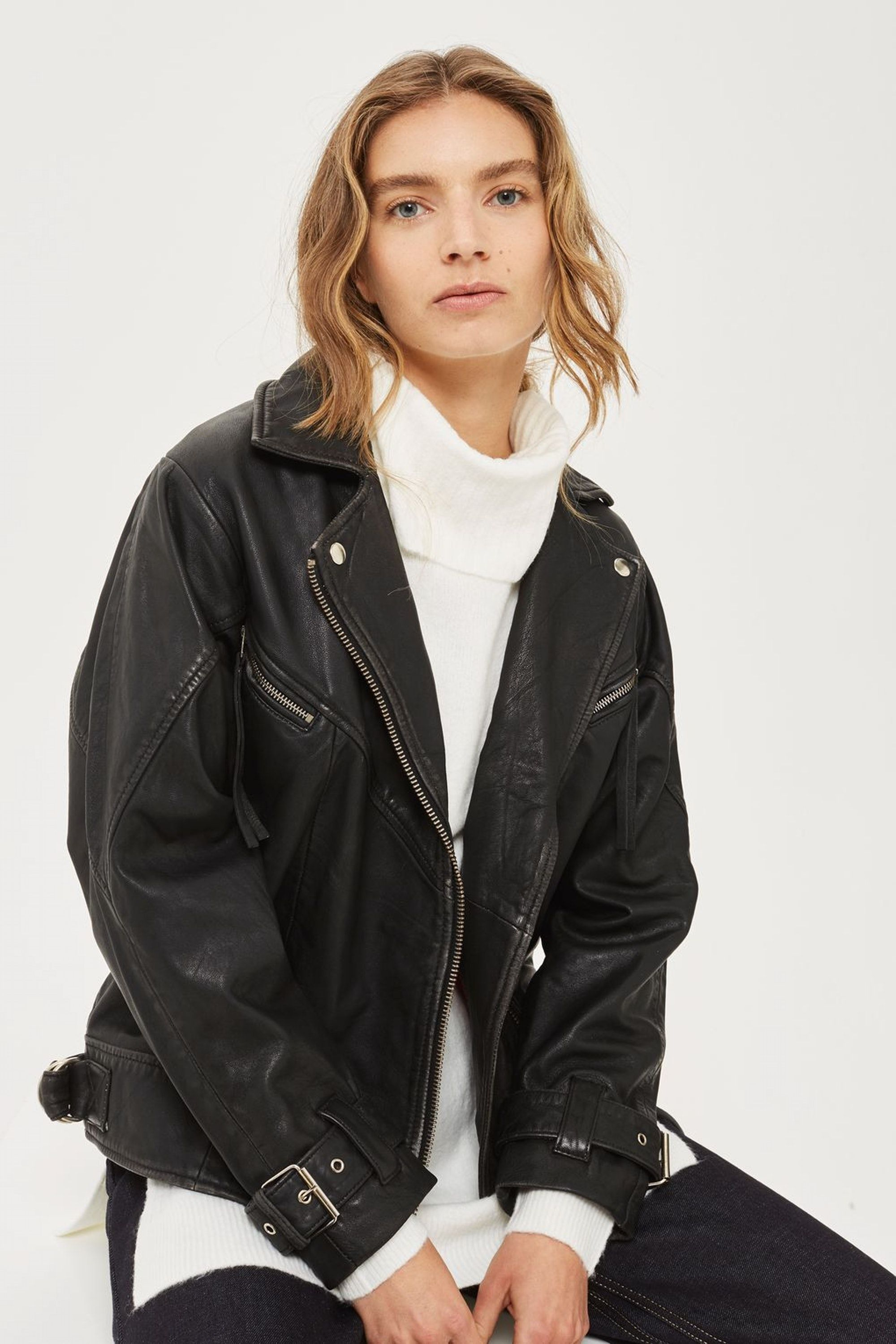 19 Transitional Jackets For Whatever Weather Fall 2017 Gives You Asos Leather Jacket Best Leather Jackets Leather Jacket [ 3000 x 2000 Pixel ]