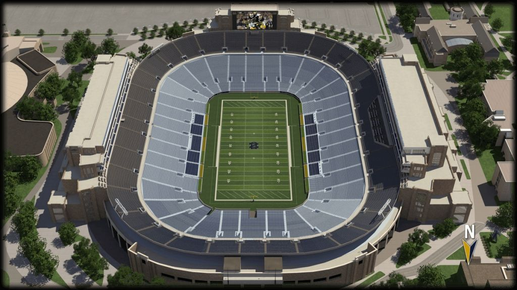 Incredible And Attractive Notre Dame Football Seating Chart Notre Dame Football Stadium Football Stadiums Notre Dame Football