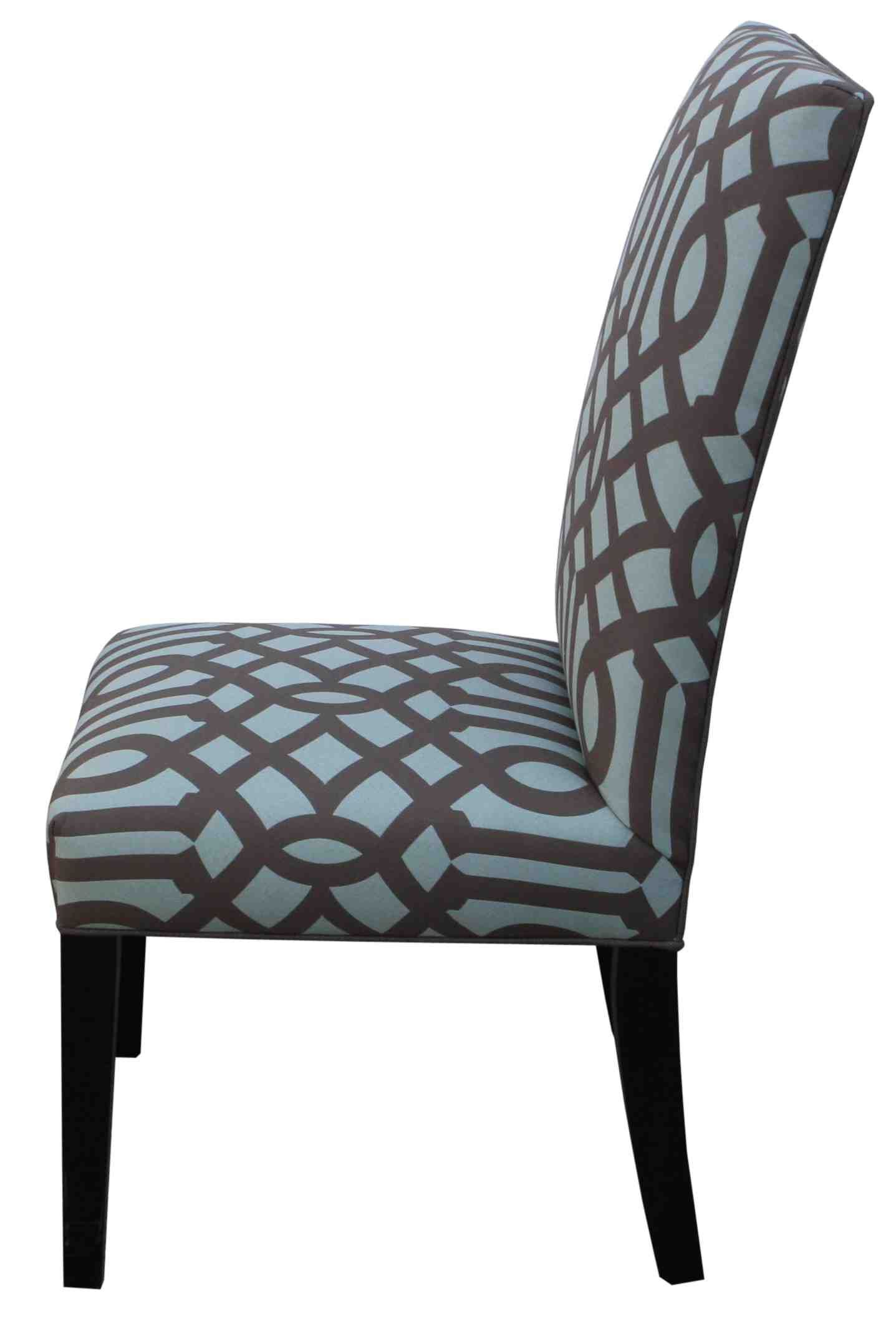 Custom Dining Chairs: Contemporary Custom Upholstered