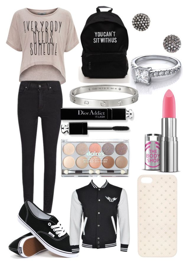 """A fall school day"" by thtchickisy ❤ liked on Polyvore featuring interior, interiors, interior design, hogar, home decor, interior decorating, Dorothy Perkins, Cheap Monday, Vans y Demitasse"