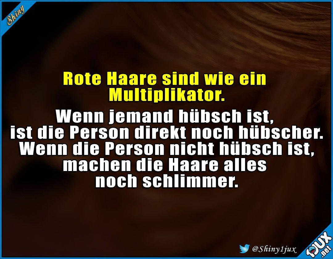 Fluch Und Segen Rot Haare Multiplikator Lustigebilder Niedlich Hubsch Spruch Witzige Spruche Lustige Spruche Spruche