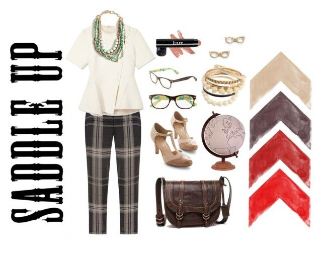 """""""saddle up for fall with a saddle bag"""" by kimg-phd ❤ liked on Polyvore"""