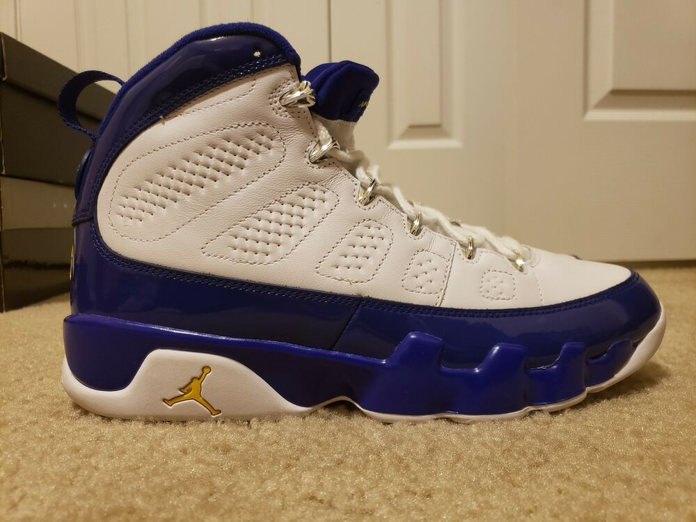 214f24106819 Air Jordan 9 IX Retro Lakers Kobe Bryant PE 302370-121 Size 10  fashion   clothing  shoes  accessories  mensshoes  athleticshoes (ebay link)