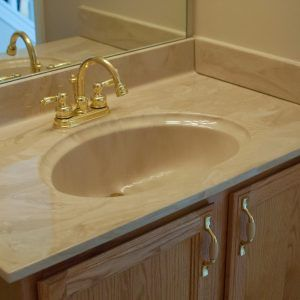 Types Of Bathroom Vanity Tops Bathroom Vanity Tops Counter Top Sink Bathroom Bathroom Vanity Designs