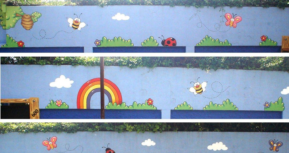 Murales en Colegios: Detalle Mural Colegio