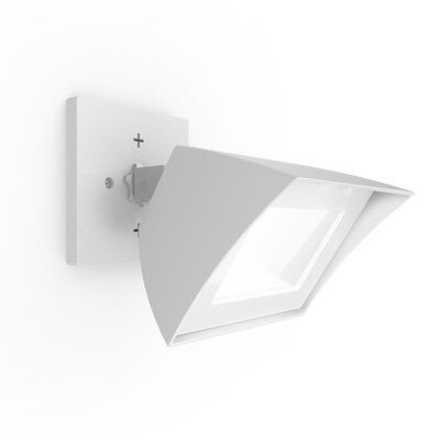 Wac Lighting Cube Architectural Led Outdoor Armed Sconce Wayfair In 2020 Led Outdoor Wall Lights Outdoor Flood Lights Wac Lighting