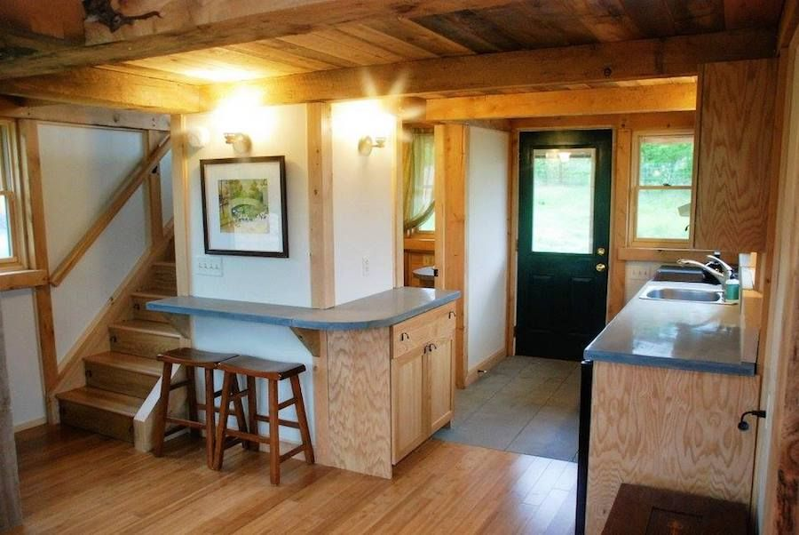 Tiny Timber House – A small, timber framed house built by Tiny ...