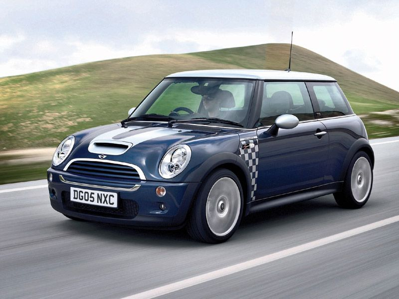 This Is What J S Car Looks Like Mini Cooper Checkmate Edition With E Blue