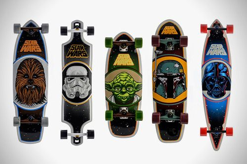 Star Wars Nerdery Design For Skateboards Star Wars Skateboard Skateboard Skateboard Decks