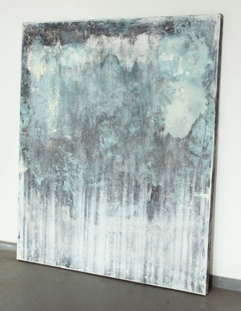 saatchi art artist christian hetzel painting blue grey. Black Bedroom Furniture Sets. Home Design Ideas