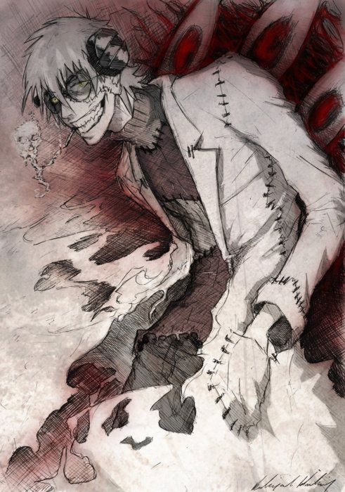 Franken Stein @Abbey Adique-Alarcon Adique-Alarcon Sutcliff Haha. It's yo man! Well, besides Grell, of course. XD