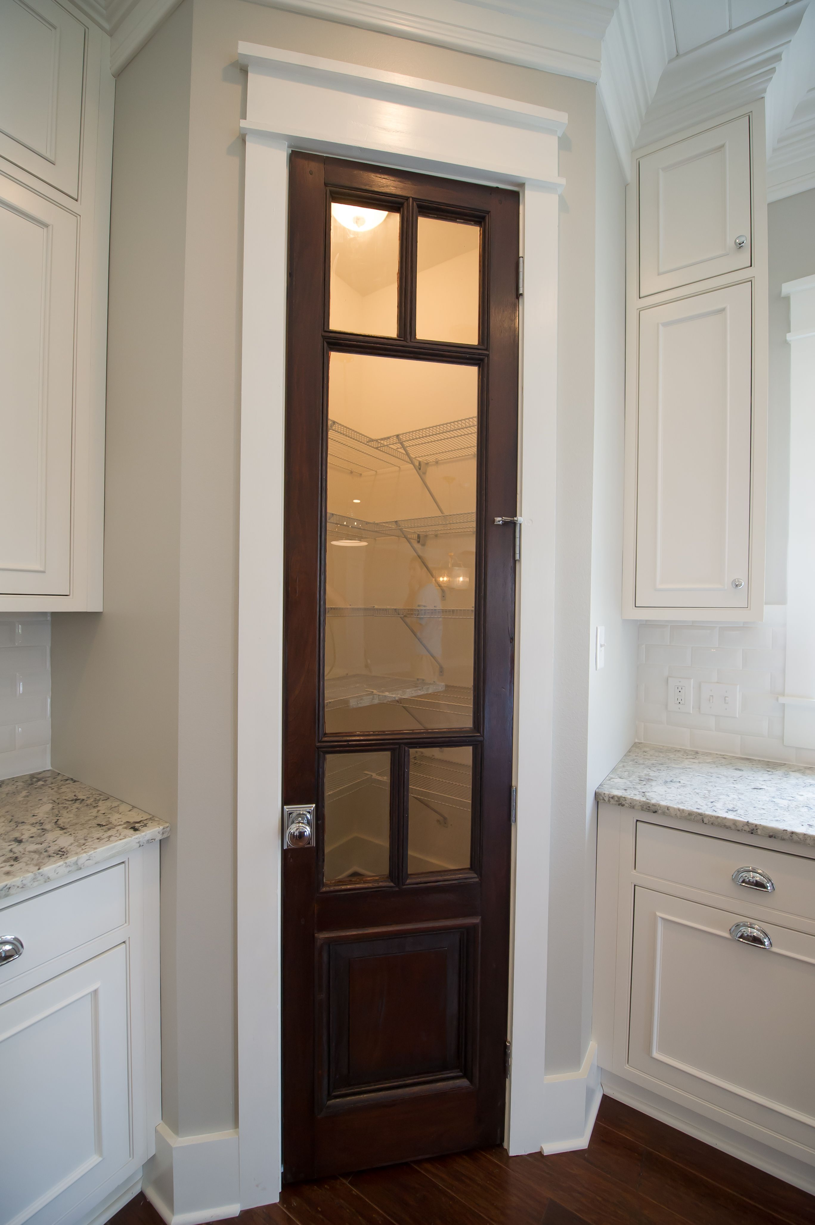 Cypress Pantry Door With Glass Reclaimed Materials Pinterest