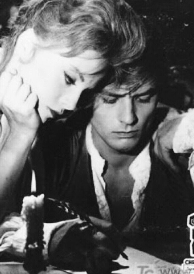 Two Of The Most Beautiful People On Earth Alain Delon Virna
