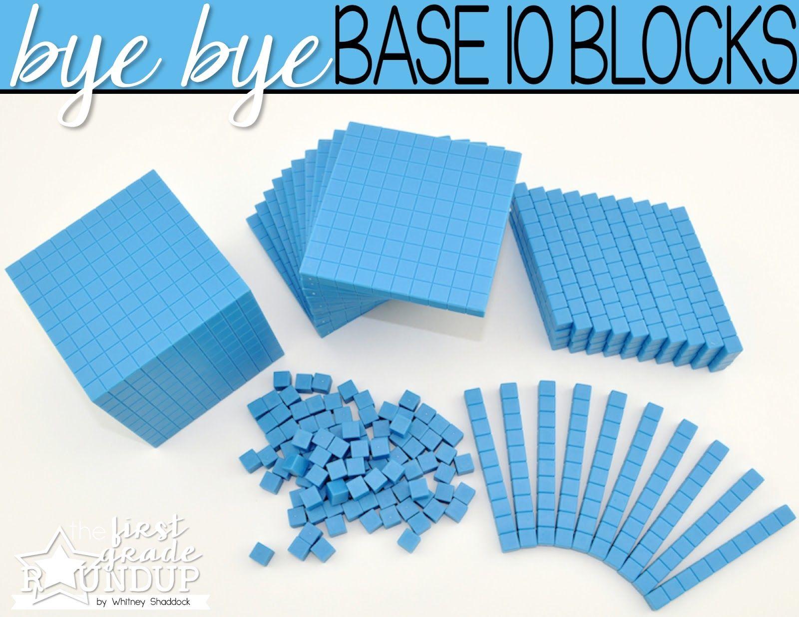 Throw Away The Base 10 Blocks
