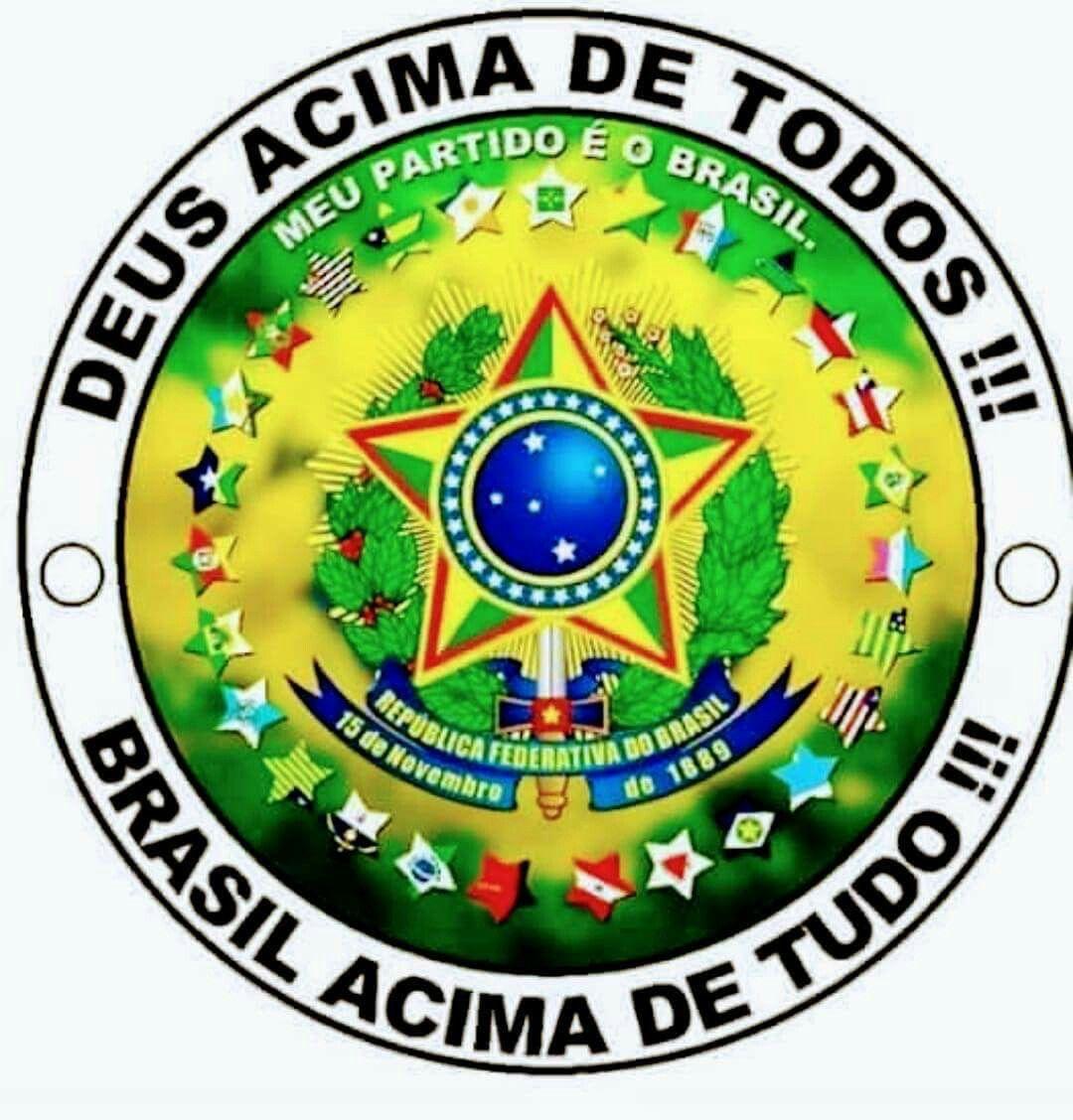 Deus Acima De Todos Em 2020 Com Imagens Bandeira Do Brasil