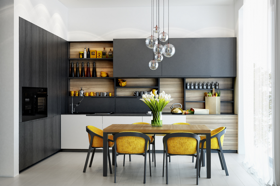 22 cuisines jaunes et design pour faire étinceler votre intérieur ...