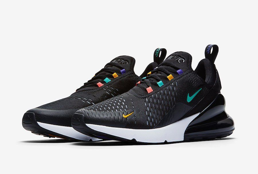 Nike Airmax 270 x Black Multicolor . These are fresh