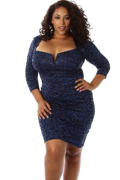 Plus size club dress are the latest trend among the clothing ...