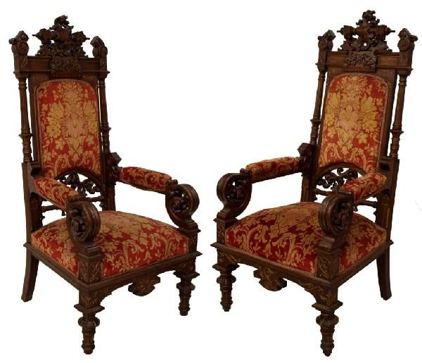 These antique throne chairs - These Antique Throne Chairs Biz -