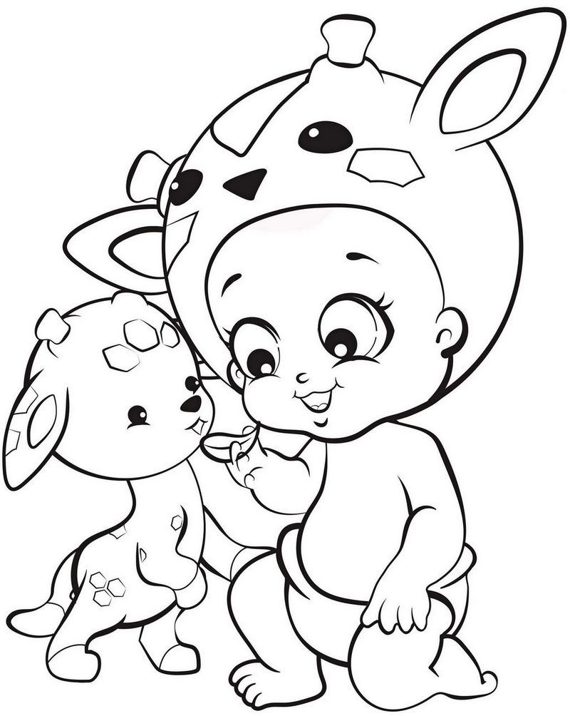 8 cute twozies coloring pages for your little angles coloring pages
