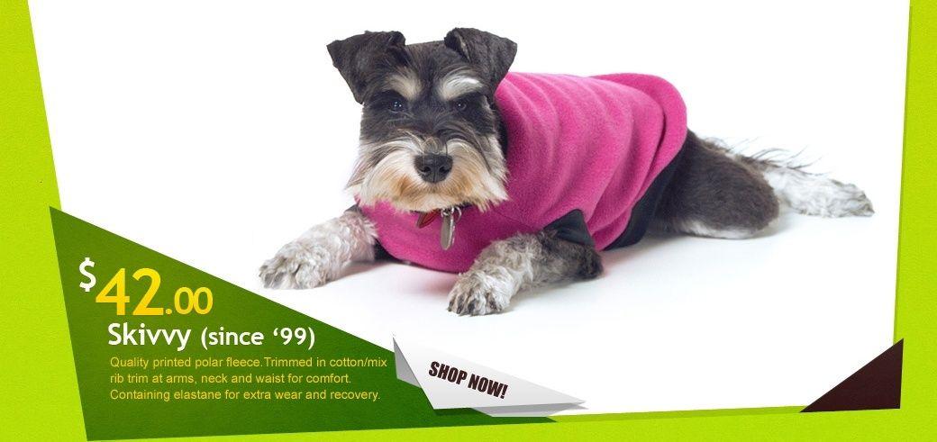Yap Wear Original Dog Skivvy Made From Anti Pill Polar Fleece